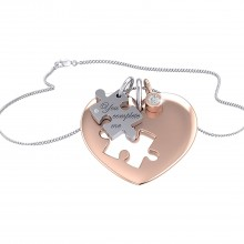 THE LOVE PUZZLE PENDANT