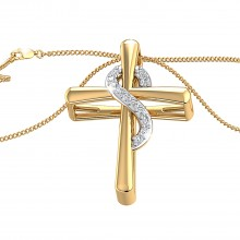 THE MARTHA CROSS PENDANT