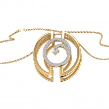 THE SPLIT CIRCLE PENDANT