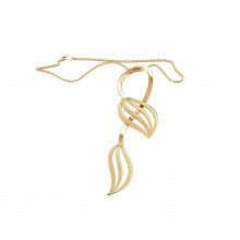 THE LALIQUE LEAF PENDANT