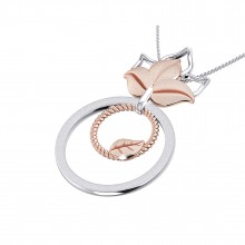 THE PETAL BLUSH PENDANT