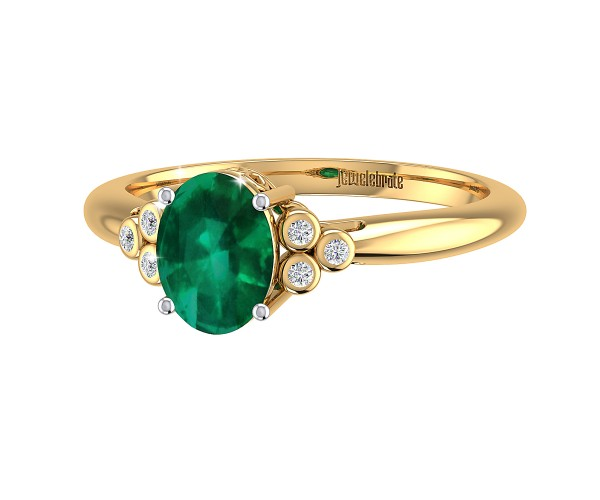 THE EMERALD SPLENDOR RING