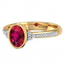THE LUSH RUBY RING