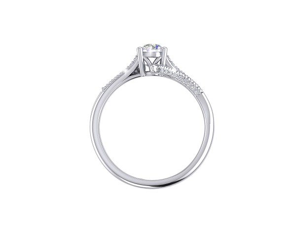 THE ARTSY SOLITAIRE RING
