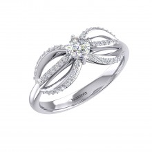 THE INFINTY SOLITAIRE RING