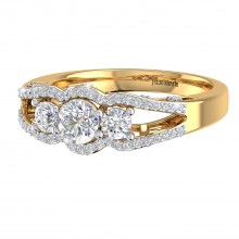THE STELLAR SOLITAIRE RING