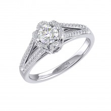 THE BLITZ SOLITAIRE RING
