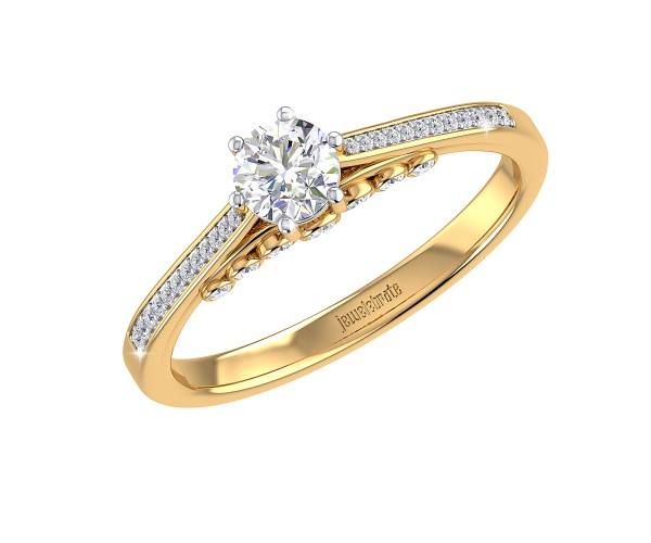 THE ETHEREAL SOLITAIRE RING