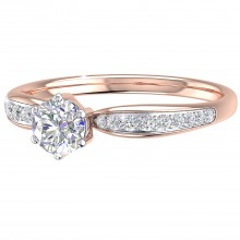 THE GOSSAMER SOLITAIRE RING