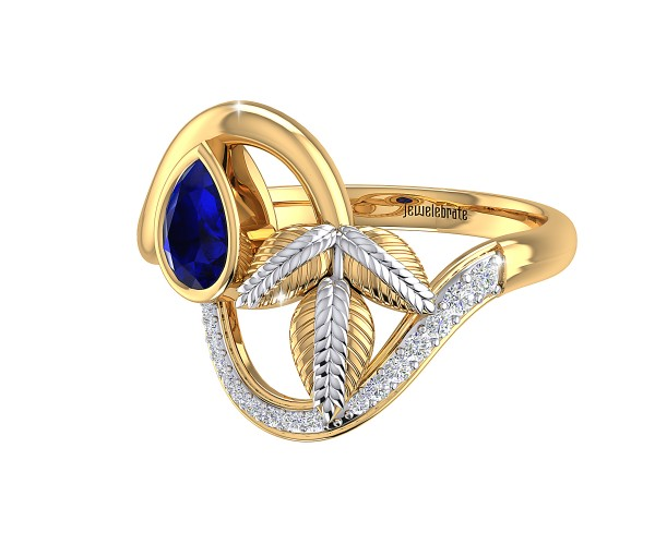 THE BLUE TRAIL RING