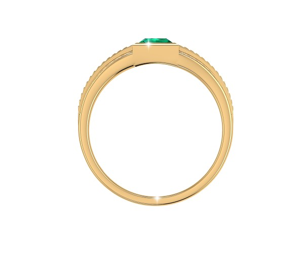 THE EN REGLE EMERALD RING