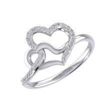 THE ENTWINED LOVE RING