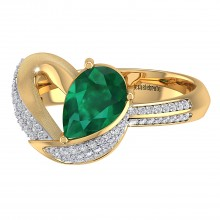 THE GORGEOUS GREEN LOVE RING