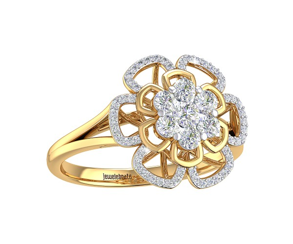 THE CASTER CLUSTER RING