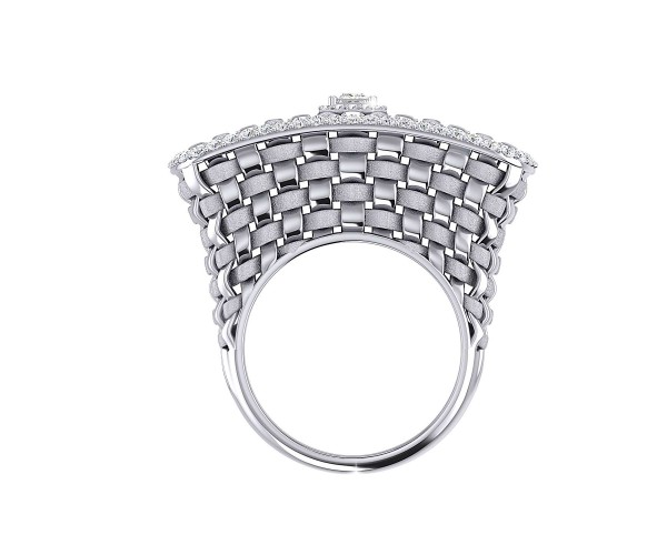 THE WAFFLE WEAVE RING