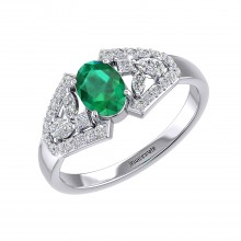 THE EMERALD SAMSARA RING