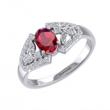 THE RUBY SAMSARA RING