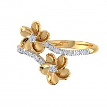 THE FLORAL VINE RING