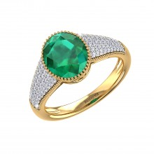 THE ENTICING EMERALD RING
