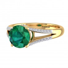 THE DYNAMIC EMERALD RING