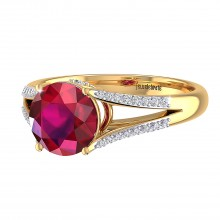 THE DYNAMIC RUBY RING