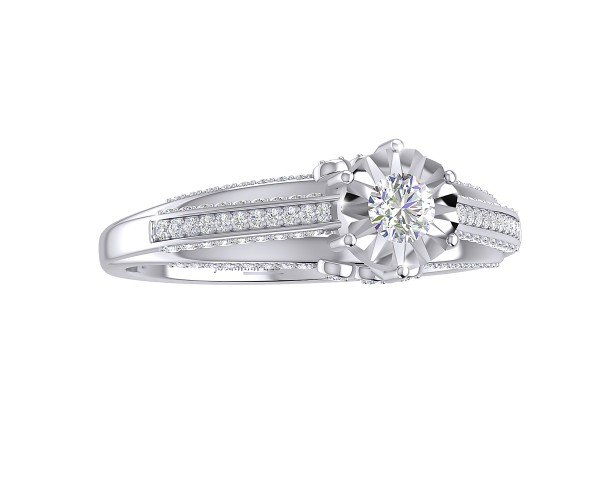 THE SHINING STAR SOLITAIRE RING