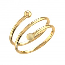 THE SPIROS TOE RING